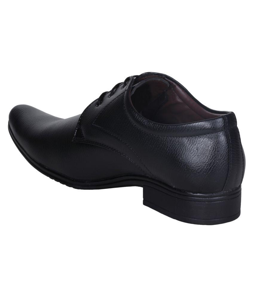 434a115819ab Emosis Black Formal Shoes Price in India- Buy Emosis Black Formal ...
