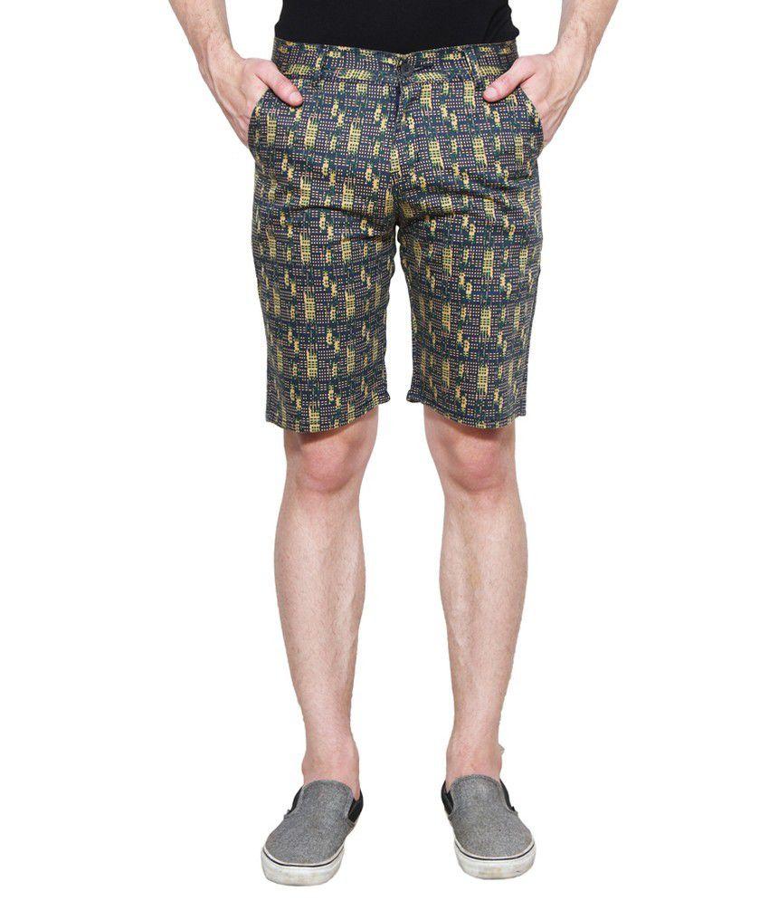 D-Rock Navy Shorts