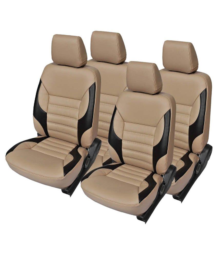 KVD Autozone Leatherite Car Seat Cover