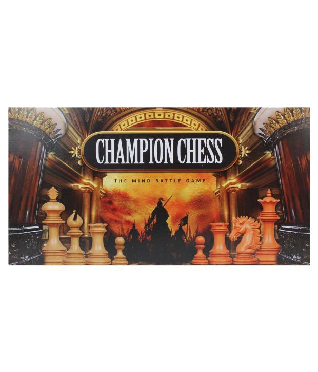 Ratna's Champion Chess Set Jumbo