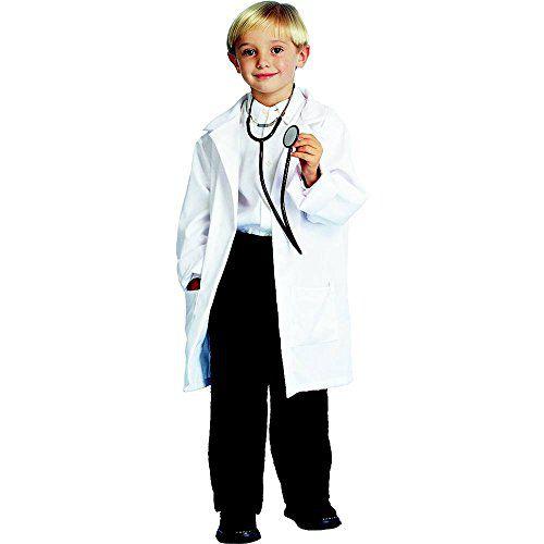 Child Doctor Deluxe Lab Coat Halloween Costume Size Medium 8