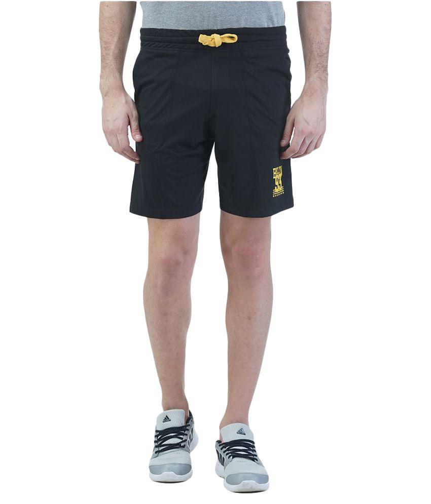 Griffel Black Shorts