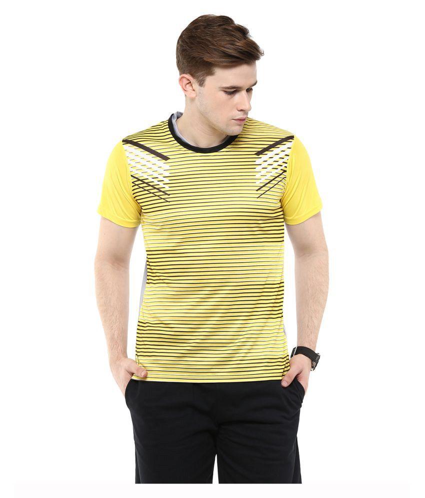Yepme Yellow Round T-Shirt