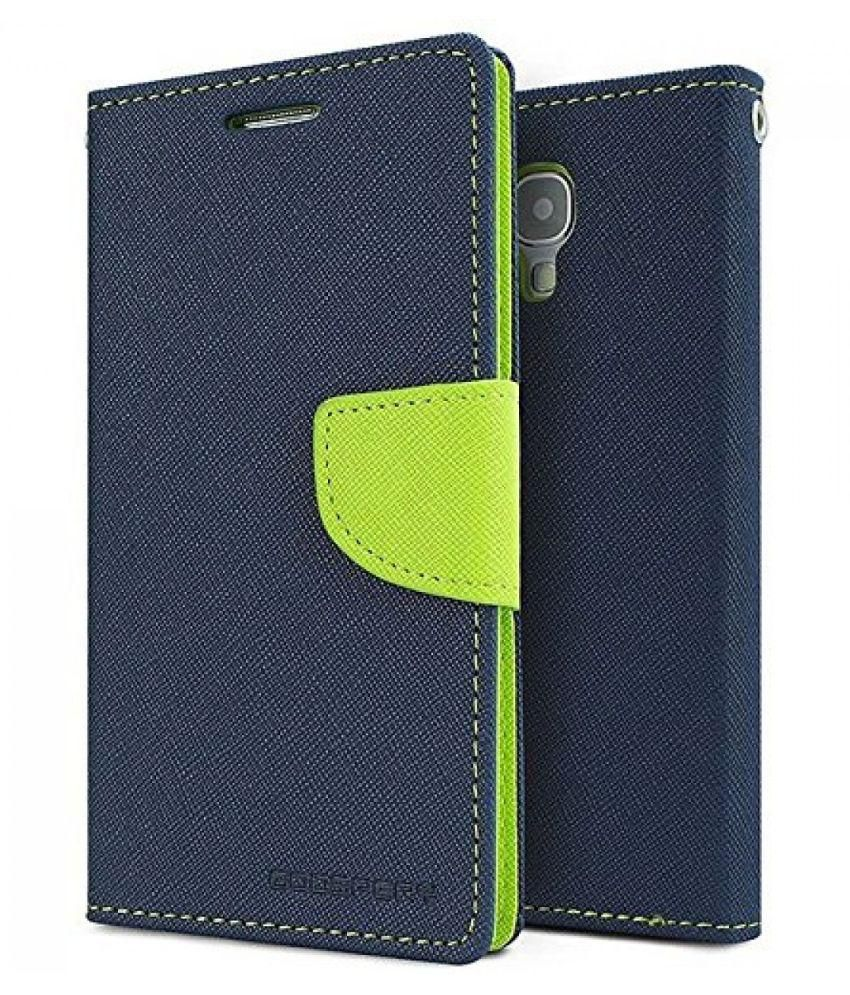 HTC One M9 Plus Flip Cover by BuyEzo - Blue