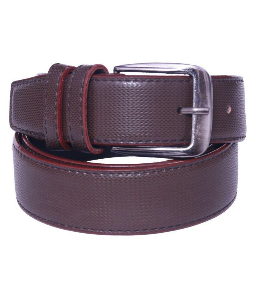 Daller Brown Formal Belt for Men