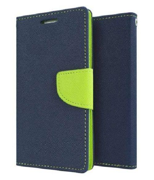 Samsung Galaxy Grand Quattro Flip Cover by Goospery - Blue