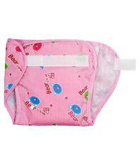 Love Baby Pocket Diaper-Large-Pink