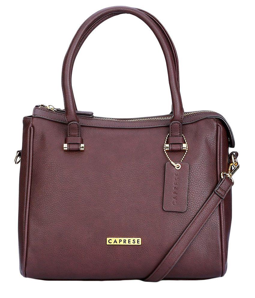 Caprese Diane Purple Satchel Bag