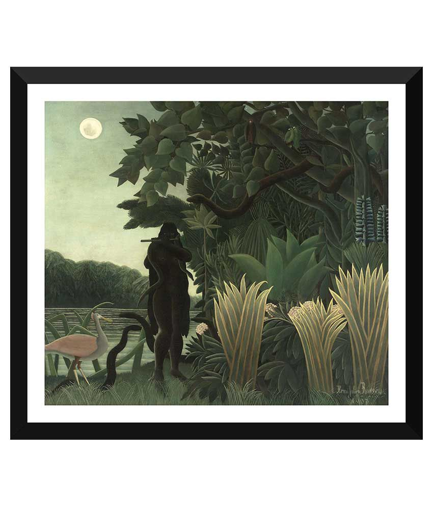 Tallenge Masters Art Paper Art Prints With Frame Single Piece