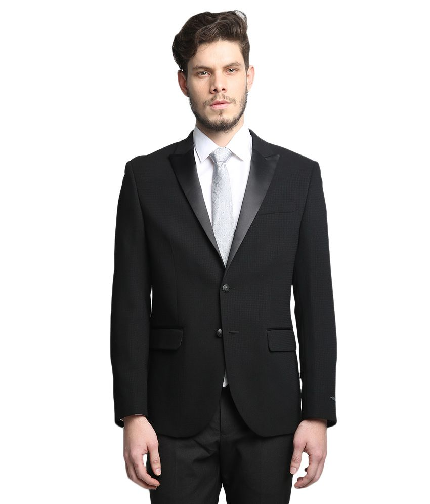 BLACKBERRYS Black Slim Fit Blazer