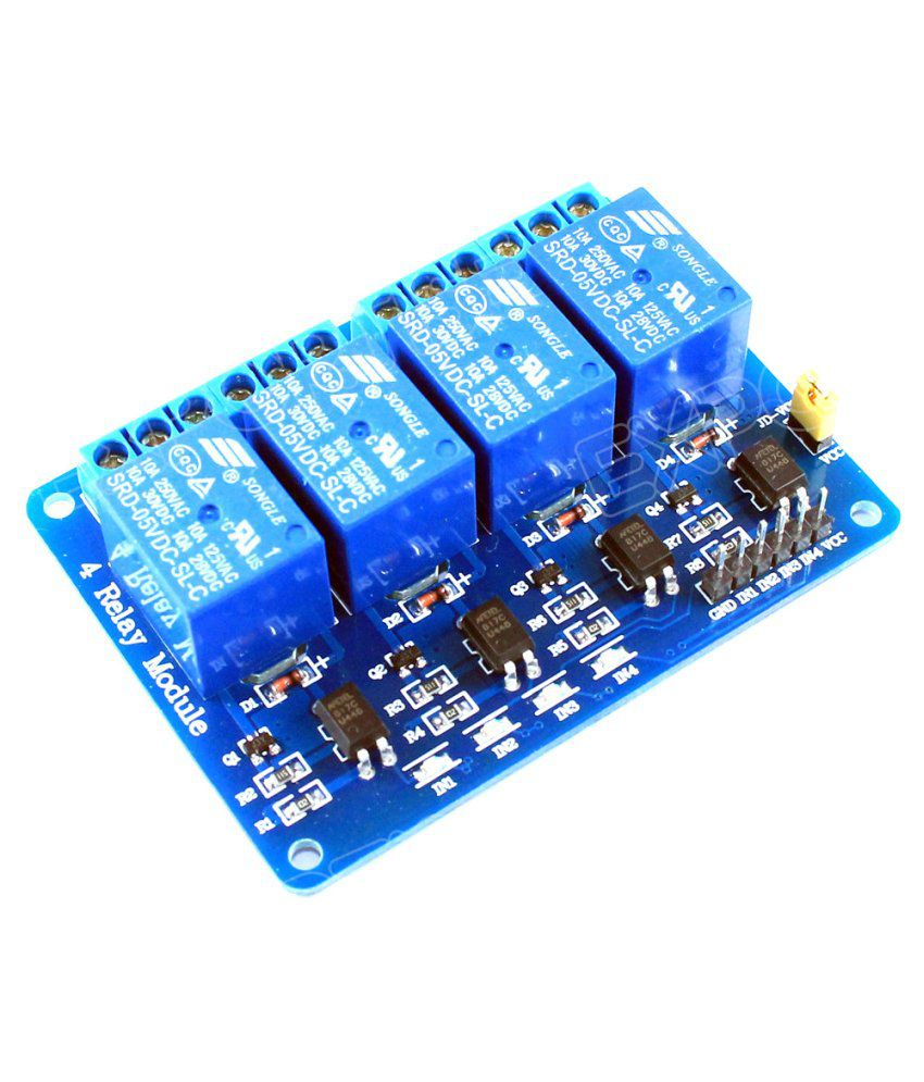 Grabem Relay Driver 4 Ch 5v Module Opto Coupled Buy Circuit