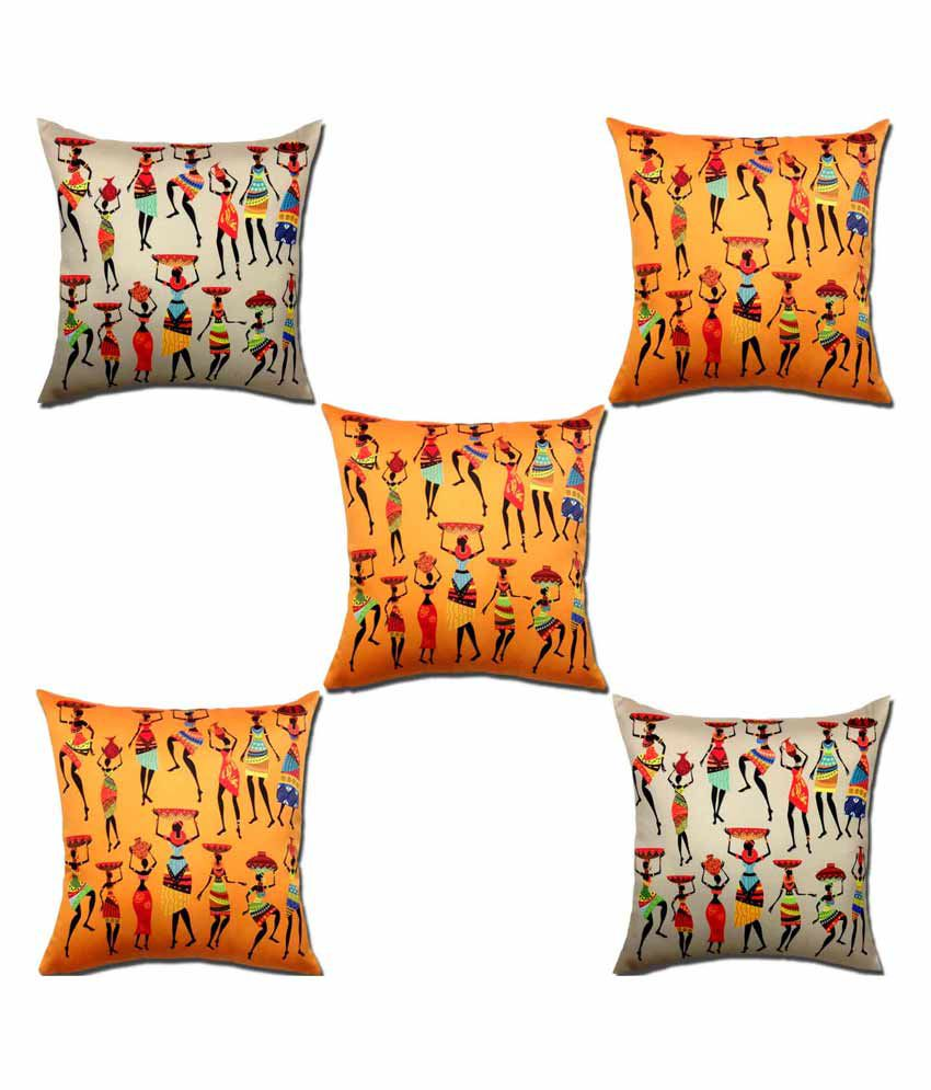 Viceroy Set of 5 Polyester Cushion Covers