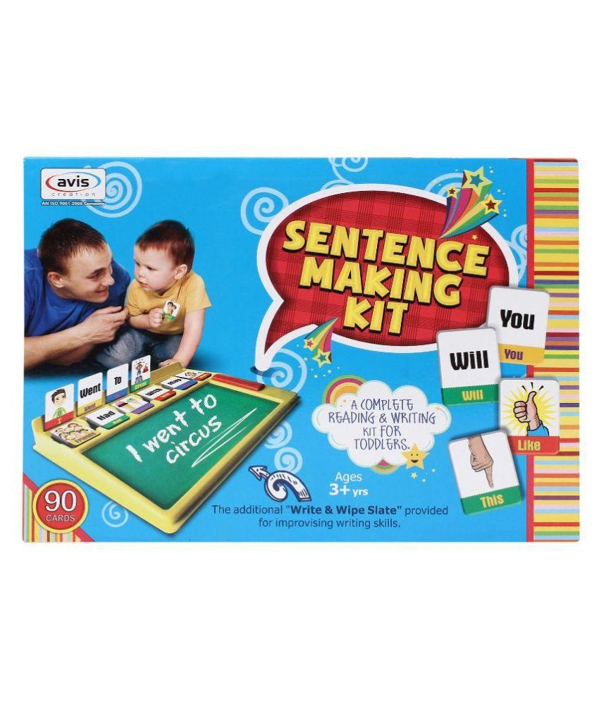Online sentence maker