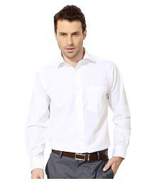 Unique For Men White Formal Slim Fit Shirt