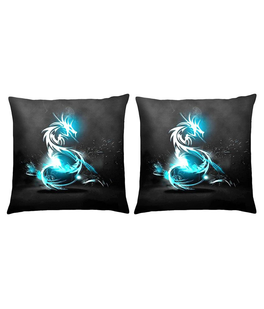Magical Knots Set of 2 Satin Cushion Covers