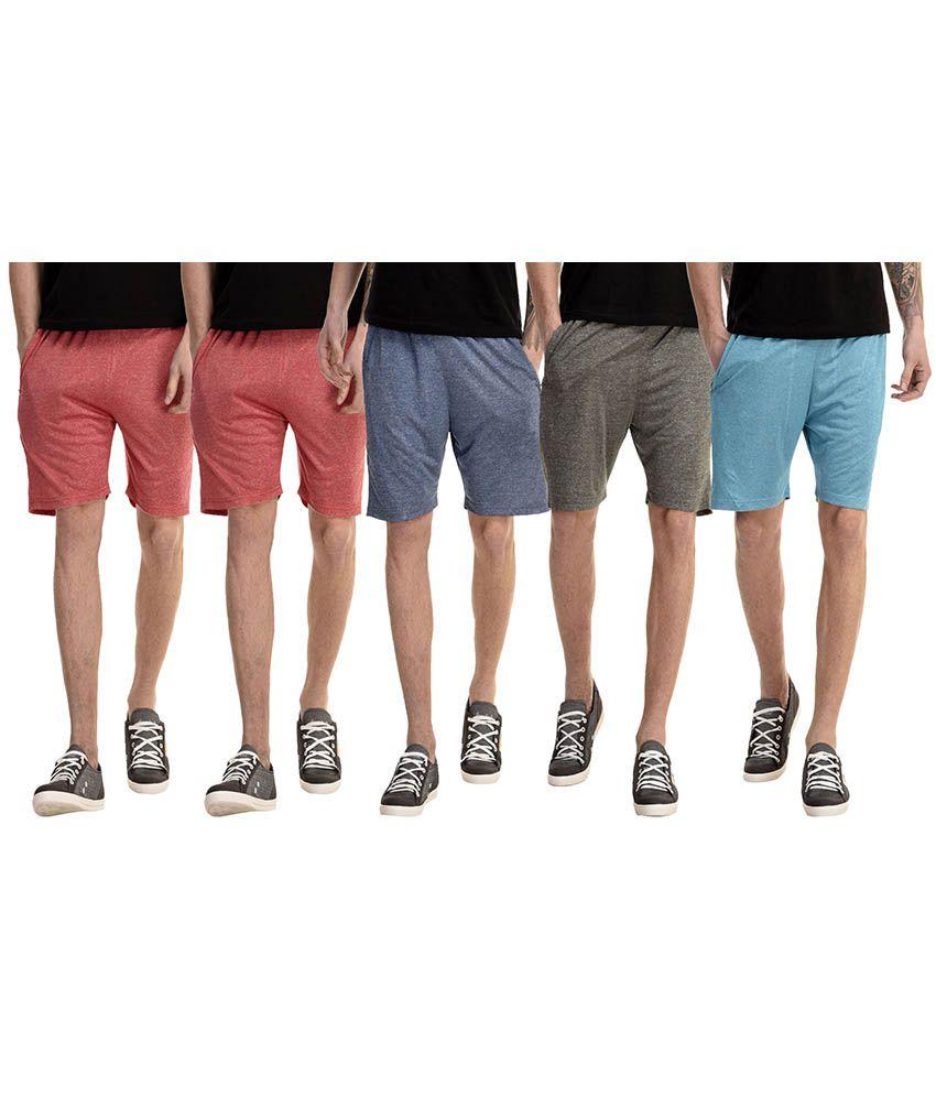 Gaushi Multi Shorts - Pack of 5