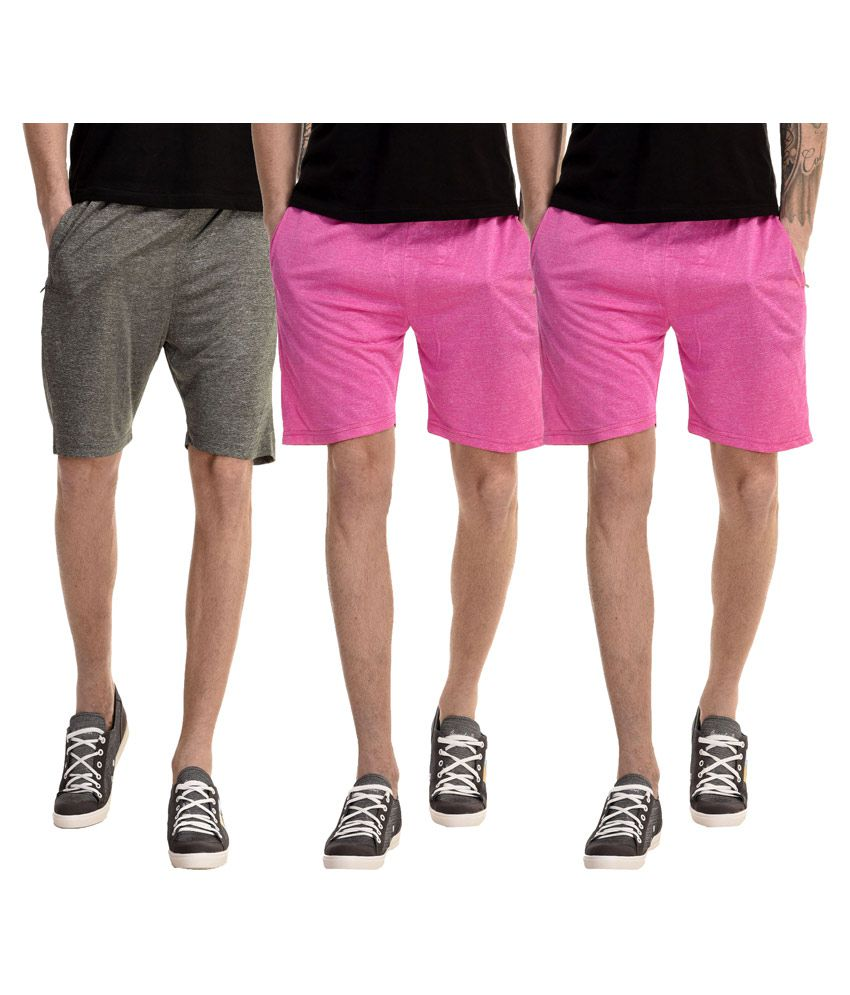 Gaushi Multi Shorts Pack of 3