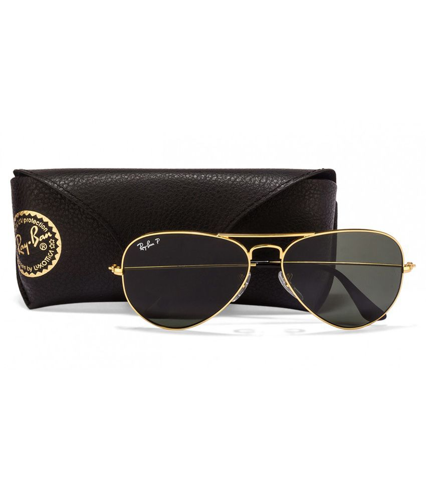Gold Ray Ban Aviators Rb 3025 58 Polarized « Heritage Malta 988321edc848