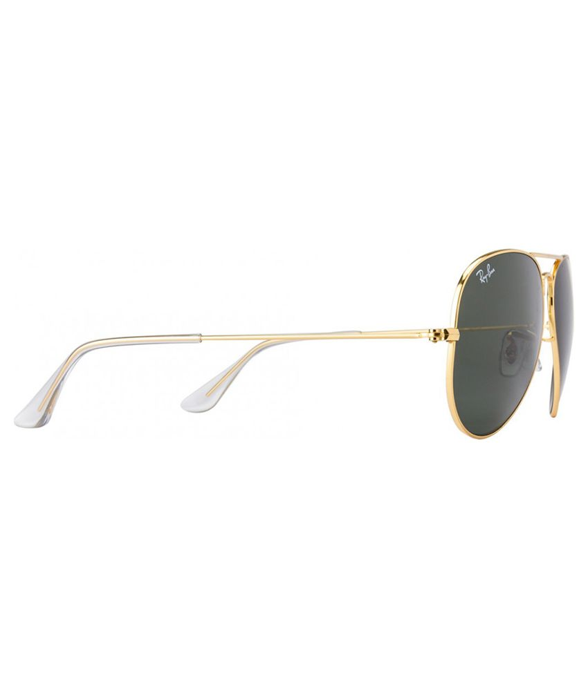 ray ban 3025 58 14  Ray-Ban Green Aviator Sunglasses (RB3025 L0205 58-14) - Buy Ray ...