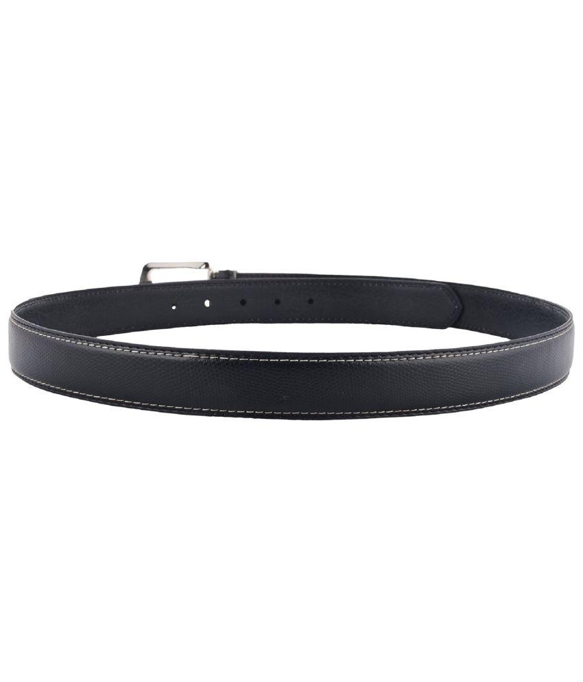 Garvan Black Formal Belt for Men