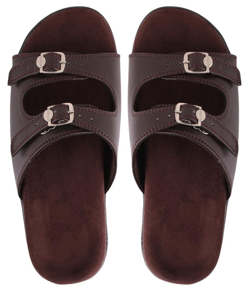 DAB Brown Slippers