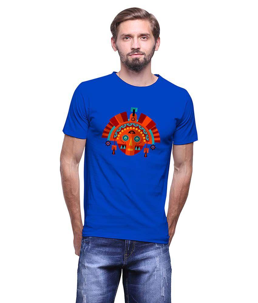 Uptown 18 Blue Round T-Shirt