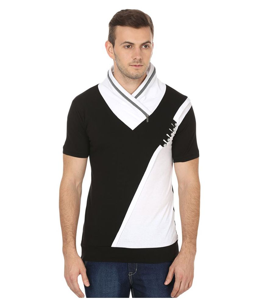Black Collection Multi High Neck T-Shirt