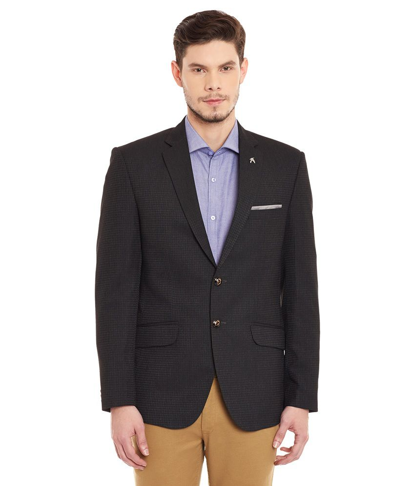 Canary London Black Casual Blazers