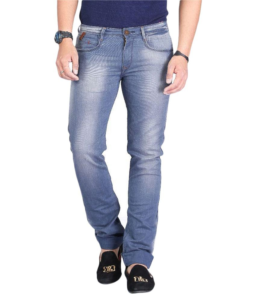 Nostrum Jeans Grey Slim Washed