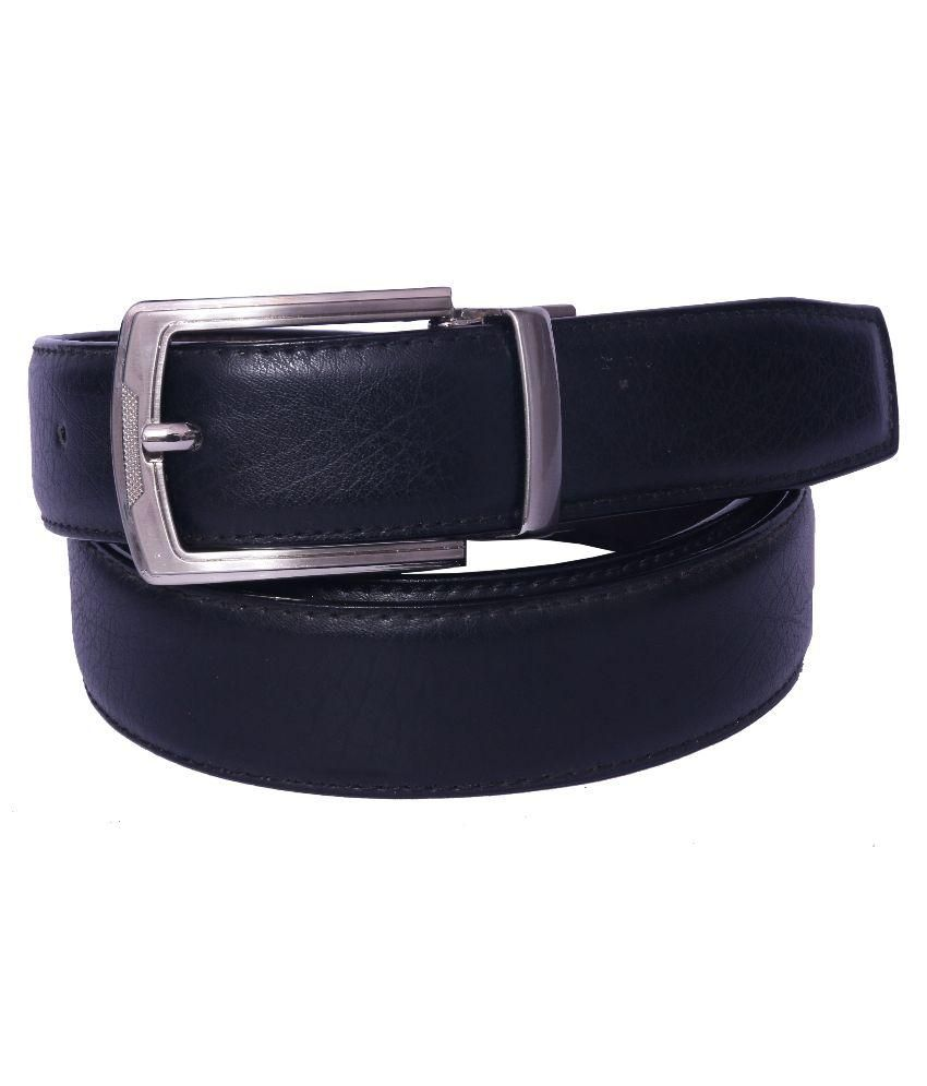 Daller Black Leather Formal Belts