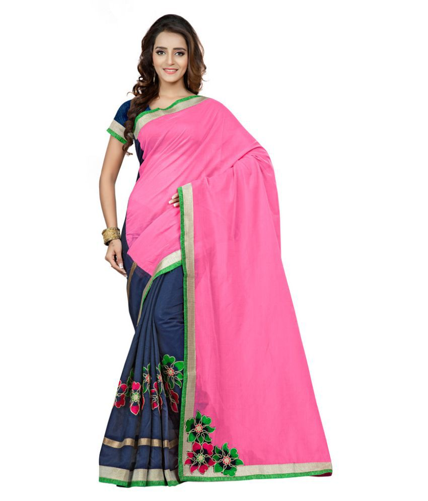 Fabdeal Multicoloured Cotton Saree