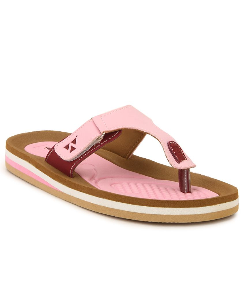Windwalker Rumba 2 Pink & Brown Slippers