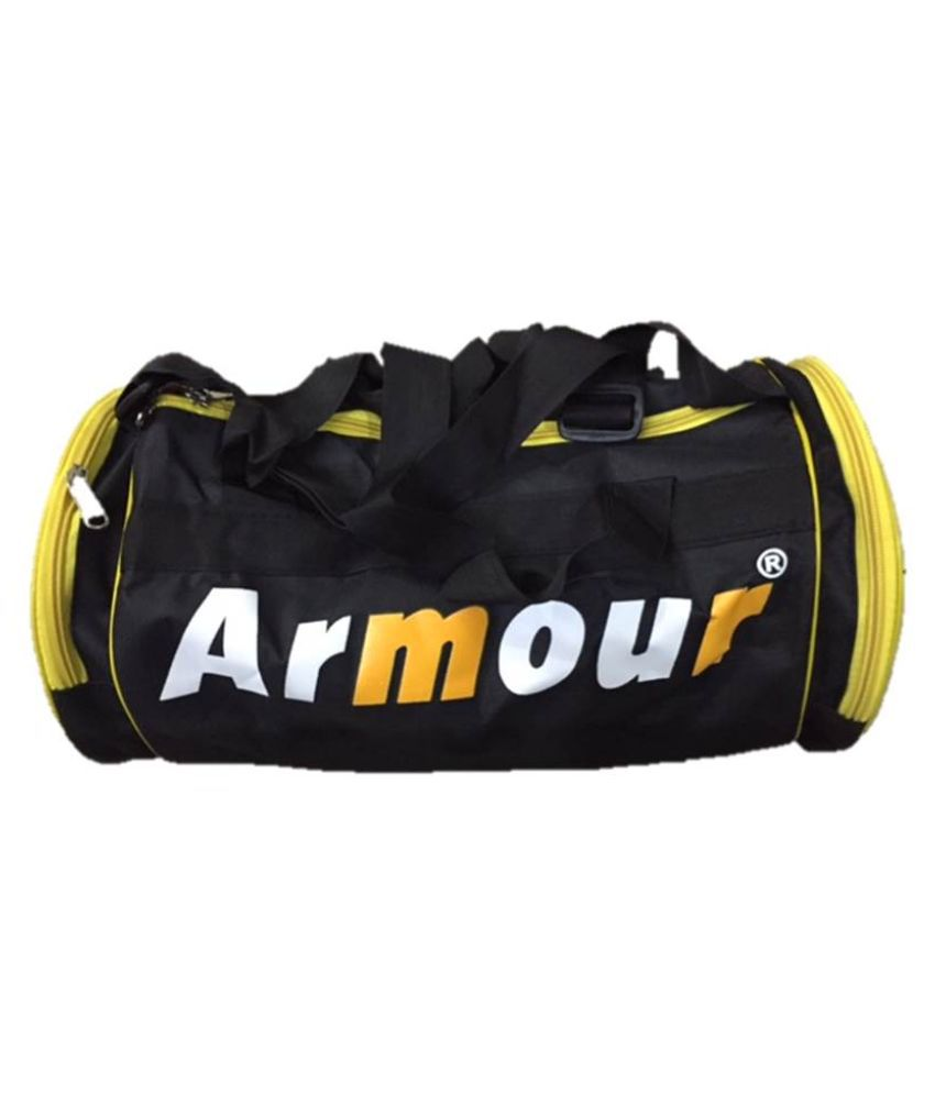 Armour Black Gym Bag