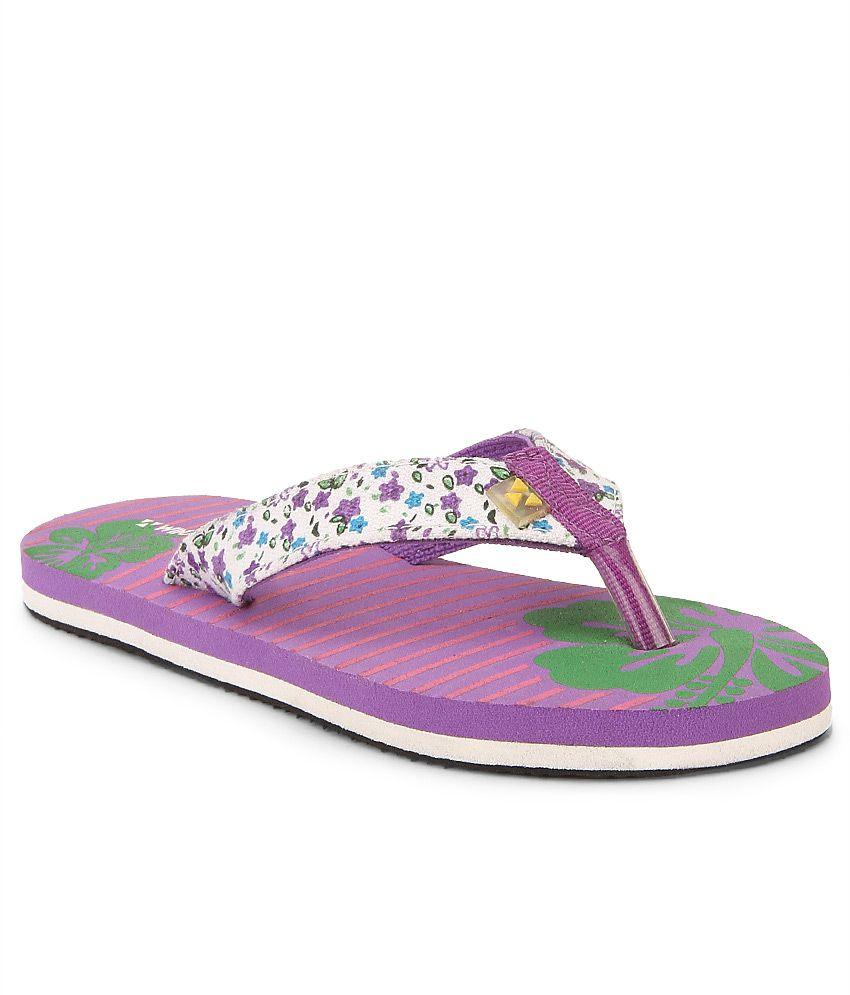 Windwalker Hula 2 Violet Flip Flops