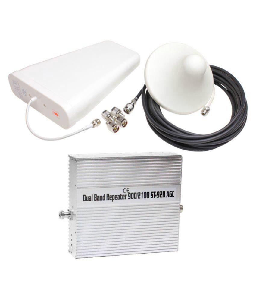 Lintratek St-92B 3G + 4G All Mobile Signal Booster 1600 RJ11 White
