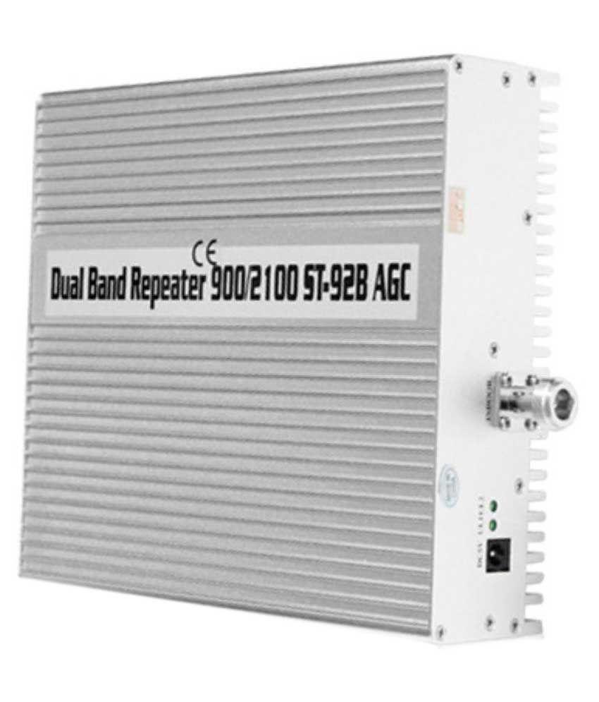 Lintratek St-92b 900-3G-4G Mobile Signal Booster 1600 RJ11 White