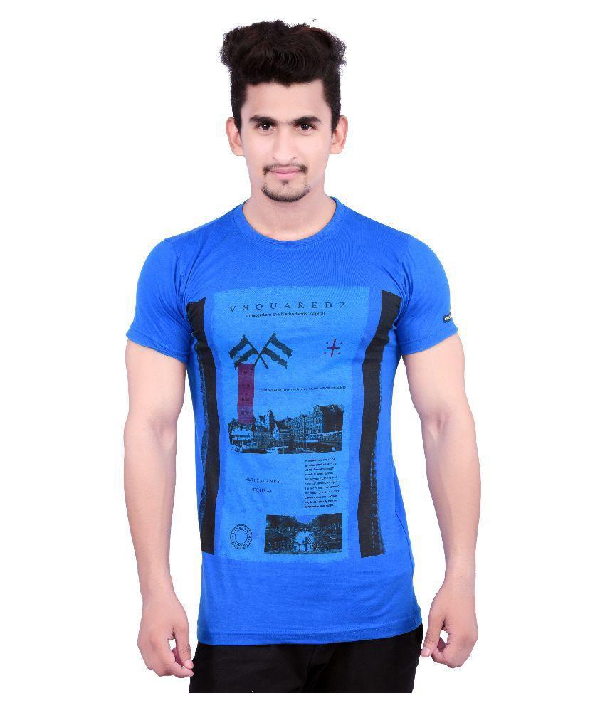 Holga Blue Round T-Shirt