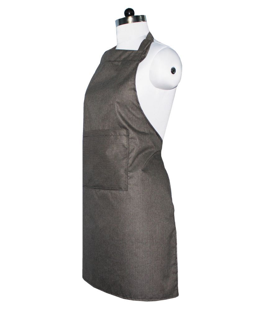 Buy white apron online -  Glassiano Single Poly Cotton Apron