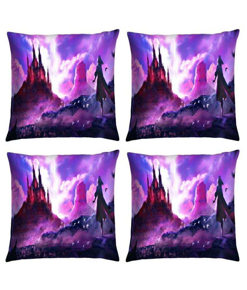 Magical Knots Set of 4 Satin Cushion Covers
