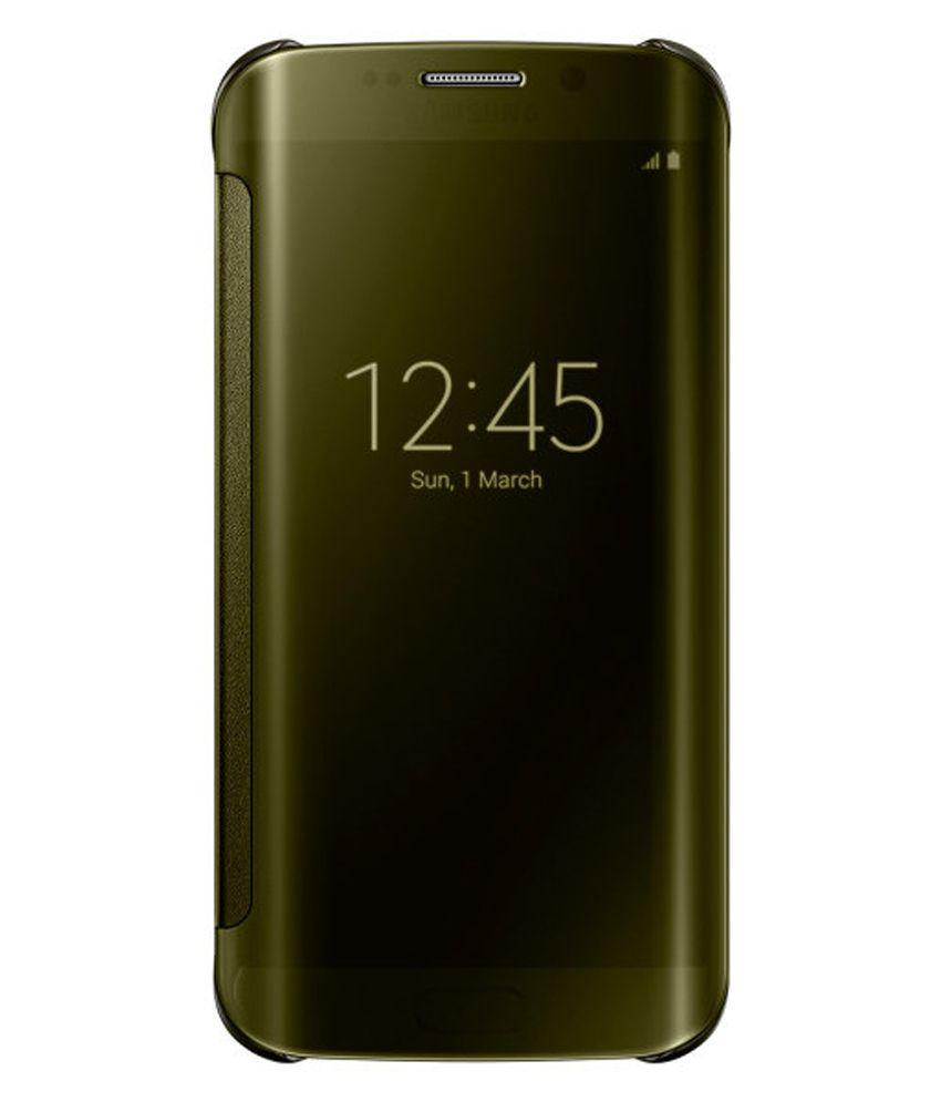 more photos 9cb63 527b6 Samsung Galaxy S7 Edge Flip Cover by 2Bro - Green