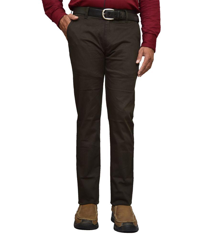 American Noti Brown Slim Flat