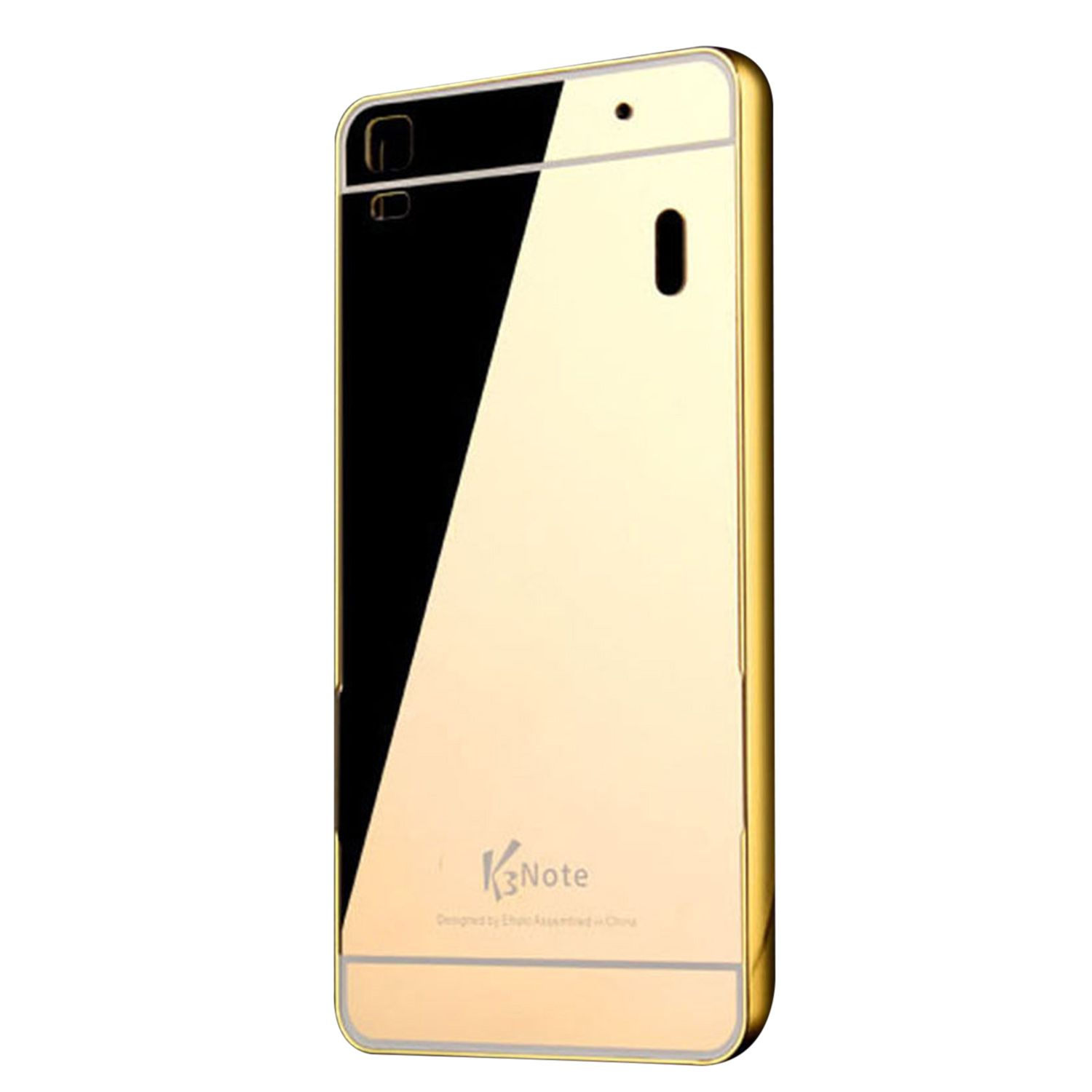 premium selection 72ed2 5db6c Lenovo K3 Note Cover by KTC - Golden