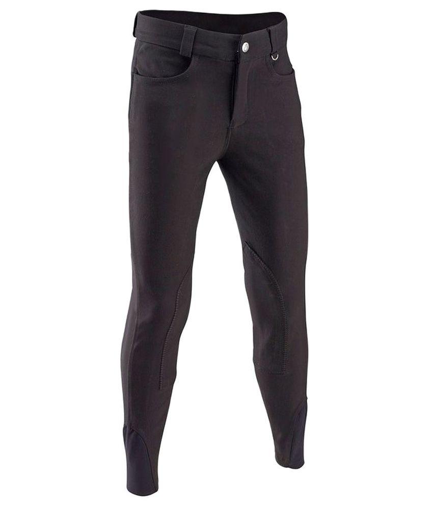 FOUGANZA Junior Riding Straight Breeches By Decathlon
