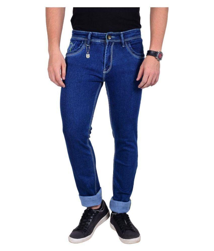 Moka  Blue Slim Solid