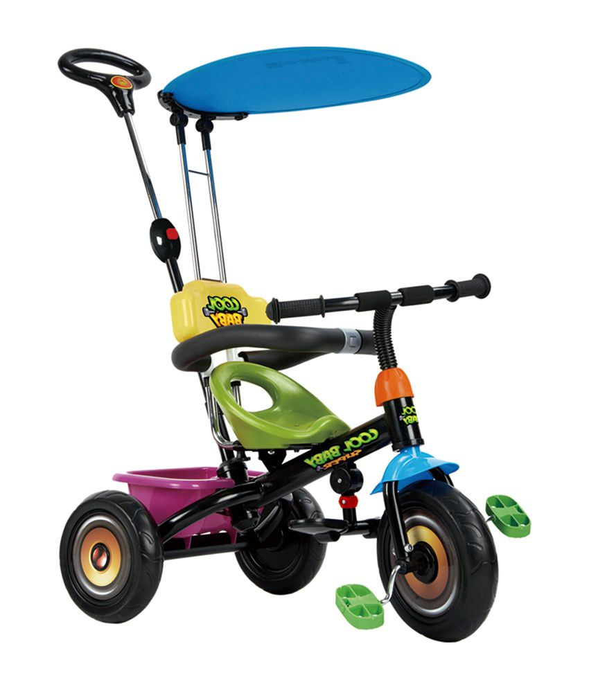 Baybee Duster Tricycle with Canopy - Black - Buy Baybee Duster Tricycle with Canopy - Black Online at Low Price - Snapdeal  sc 1 st  Snapdeal & Baybee Duster Tricycle with Canopy - Black - Buy Baybee Duster ...
