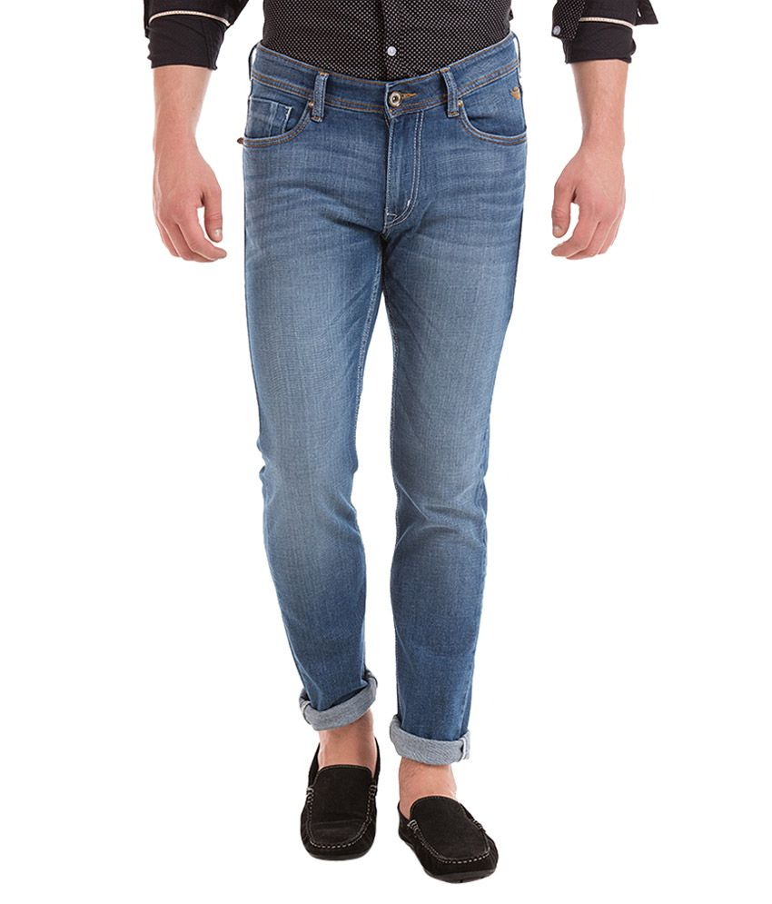 Flying Machine Blue Skinny Fit Jeans