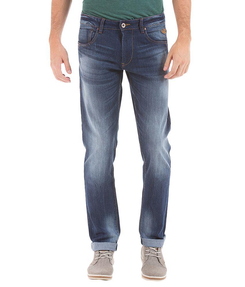 Flying Machine Blue Slim Fit Jeans
