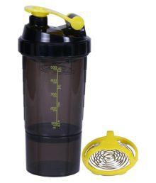 E-Classic 500 Ml 1 Storage Shaker Bottle - Black