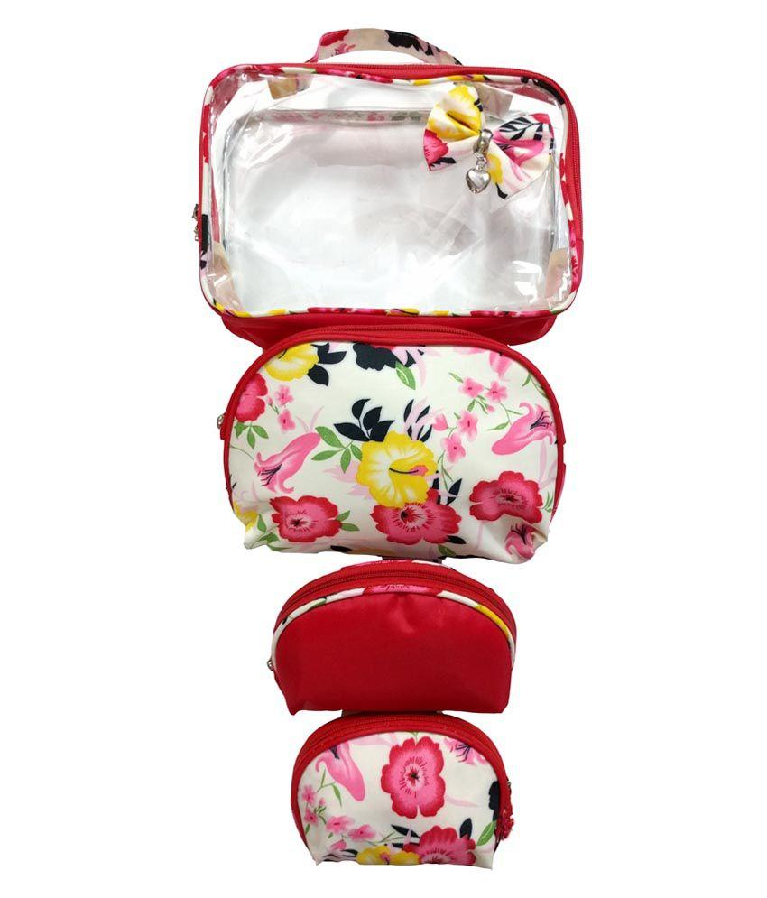 Arow Multi Vanity Kit and pouches - 4 Pcs