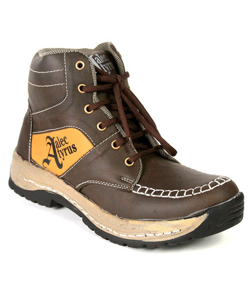 Alec Tyrus Brown Casual Boot